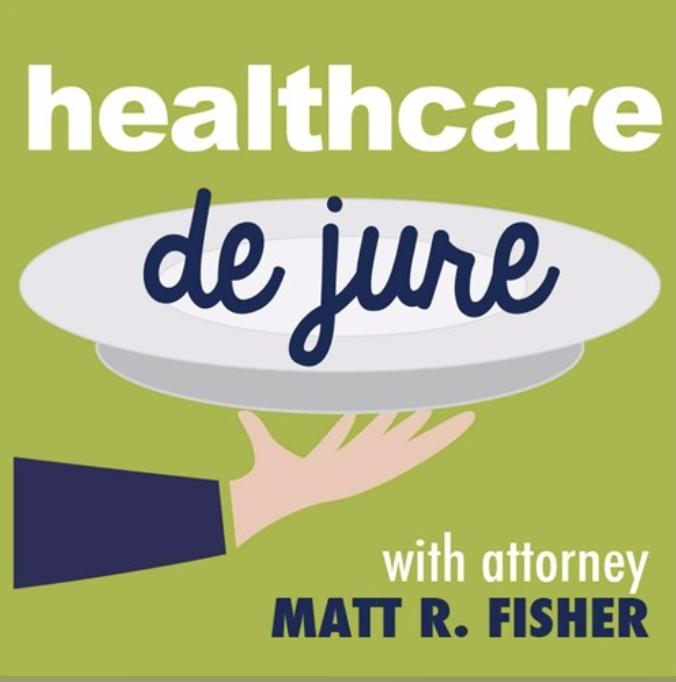healthcare de jure podcast cover