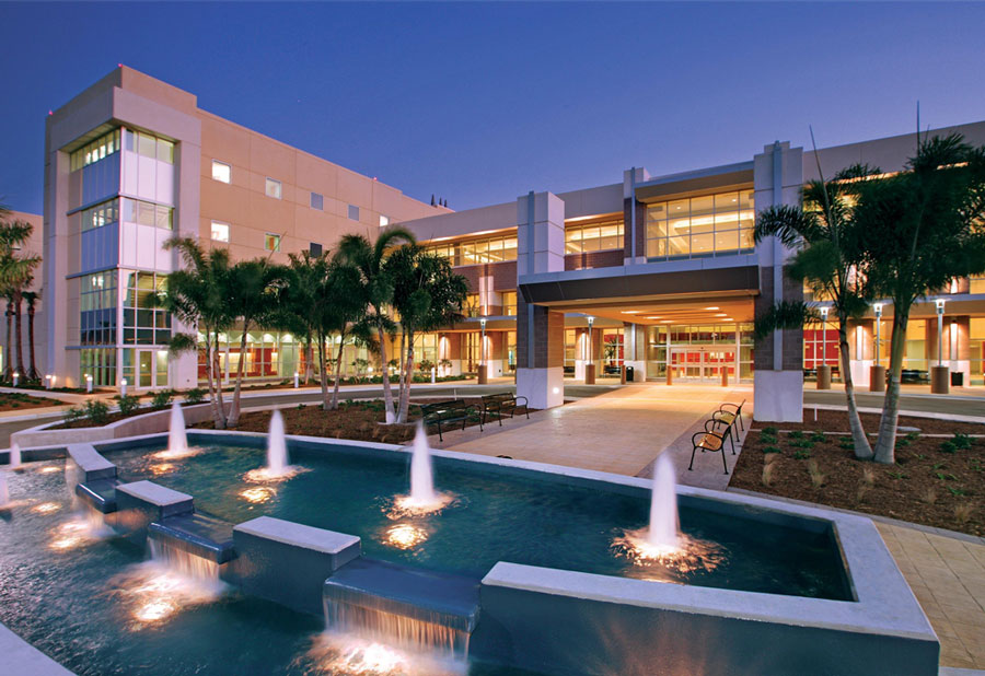 Lee Health hospital building